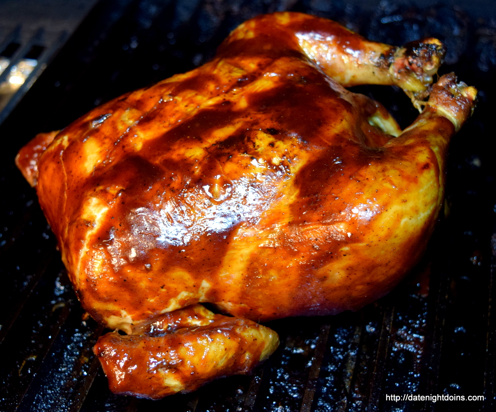 Barbequed Chicken, Bourbon Bacon Glaze, How to BBQ, Ken Patti BBQ ...