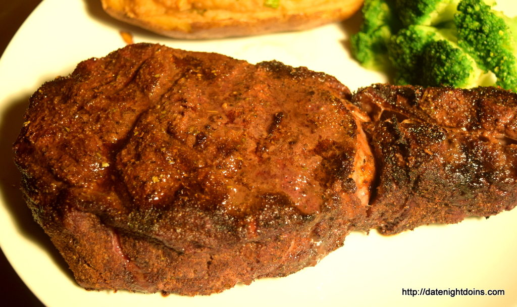 Blackened Prime Rib
