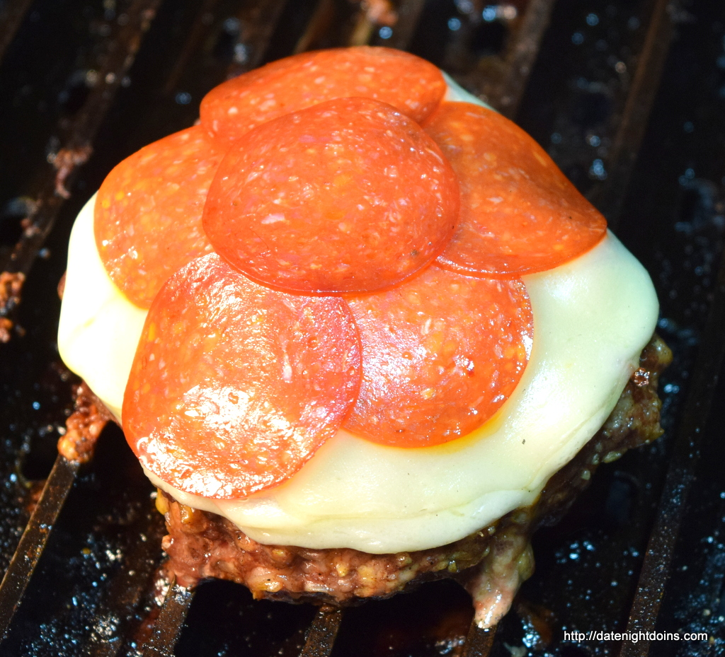 Pizza Burgers, how to BBQ, Grill, smoke, recipe, Ken Patti BBQ, pellet smoking, wood pellet grill