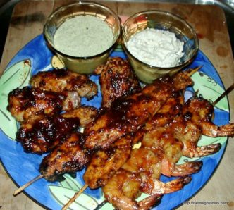 Fire and Ice Cajun Chicken Sticks, Wood pellet grill, recipe, smoke, BBQ, Date night recipe, how to BBQ, ken Patti BBQ, wings, Grill Grate, Maverick, HPBA, KCBS, How To BBQ, Ken Patti BBQ, Pellet Cooking, Bull Racks, Date Night Butt Rub