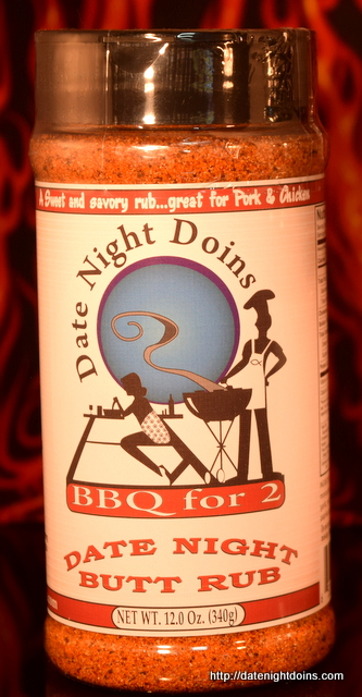 Ken Patti BBQ, Date Night Seasoning