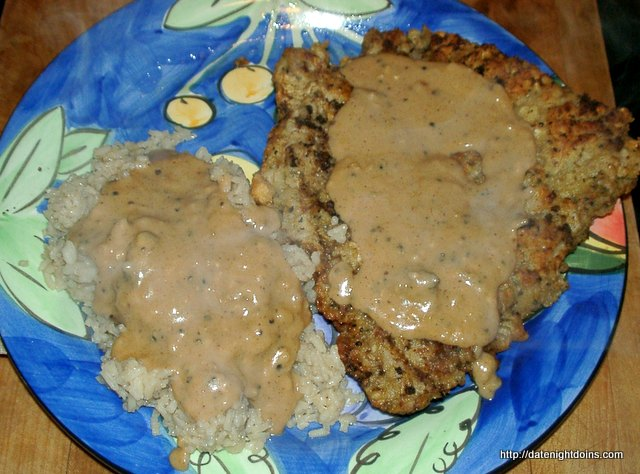 Rainy Day Chicken Fried Steak Date Night Doins Bbq For Two