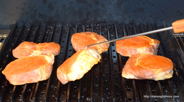 Strawberry Habanero Glazed Loin Chops, Grill Grate, Maverick, HPBA, KCBS, How To BBQ, Ken Patti BBQ, Pellet Cooking, Bull Racks, Date Night Butt Rub, Date Night Recipe, Pellet Grill Recipe, BBQ recipe, smoker recipe