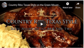 Video Country Ribs Texas Style