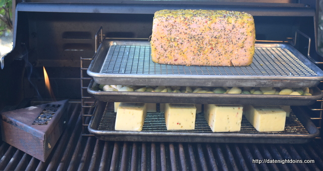Cold Smoken on your Gasser, Grill Grate, Maverick, How To BBQ, Ken Patti BBQ, Pellet Cooking, Bull Racks, Date Night Butt Rub, Date Night Recipe, Pellet Grill Recipe, BBQ recipe, Barbeque recipe, smoker recipe, BBQ Grilling recipes, wood pellet grill, wood pellet grill recipe, Wedgie