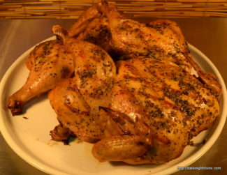 Lemon Pepper Brined Chicken
