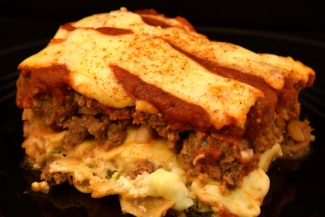 Lasagna Stuffed Meatloaf Smoken on Your Gasser