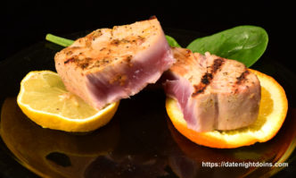 Citrus Ahi Tuna Steaks, Smokin' on Your Gasser, Grill Grate, Maverick, How To BBQ, Ken Patti BBQ, Pellet Cooking, Bull Racks, Date Night Butt Rub, Date Night Recipe, Pellet Grill Recipe, BBQ recipe, Barbeque recipe, smoker recipe, BBQ Grilling recipes, wood pellet grill, wood pellet grill recipe, Wedgie, Easy BBQ Recipes
