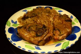 Smothered Smoked Pork Chops