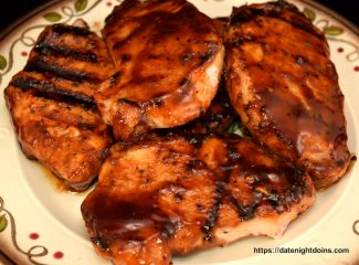 Cold Smoked BBQ Pork Chops