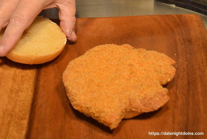 Tenderloin Burger Alabama Style