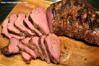 Reverse Seared Tri Tip Test Cook # 3