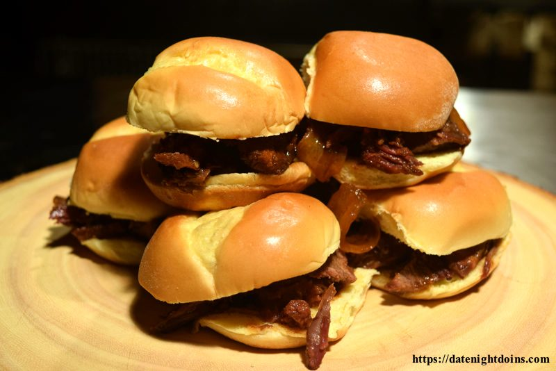 BBQ Chuck Roast Sliders