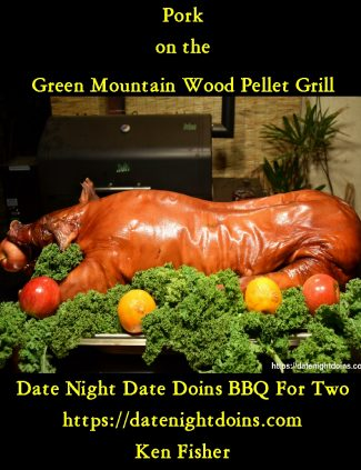 Pork on the Green Mountain Wood Pellet Grill Cookbook