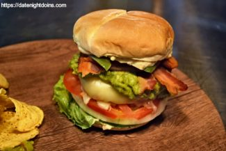 Jalapeno Guacamole Bacon Cheeseburger